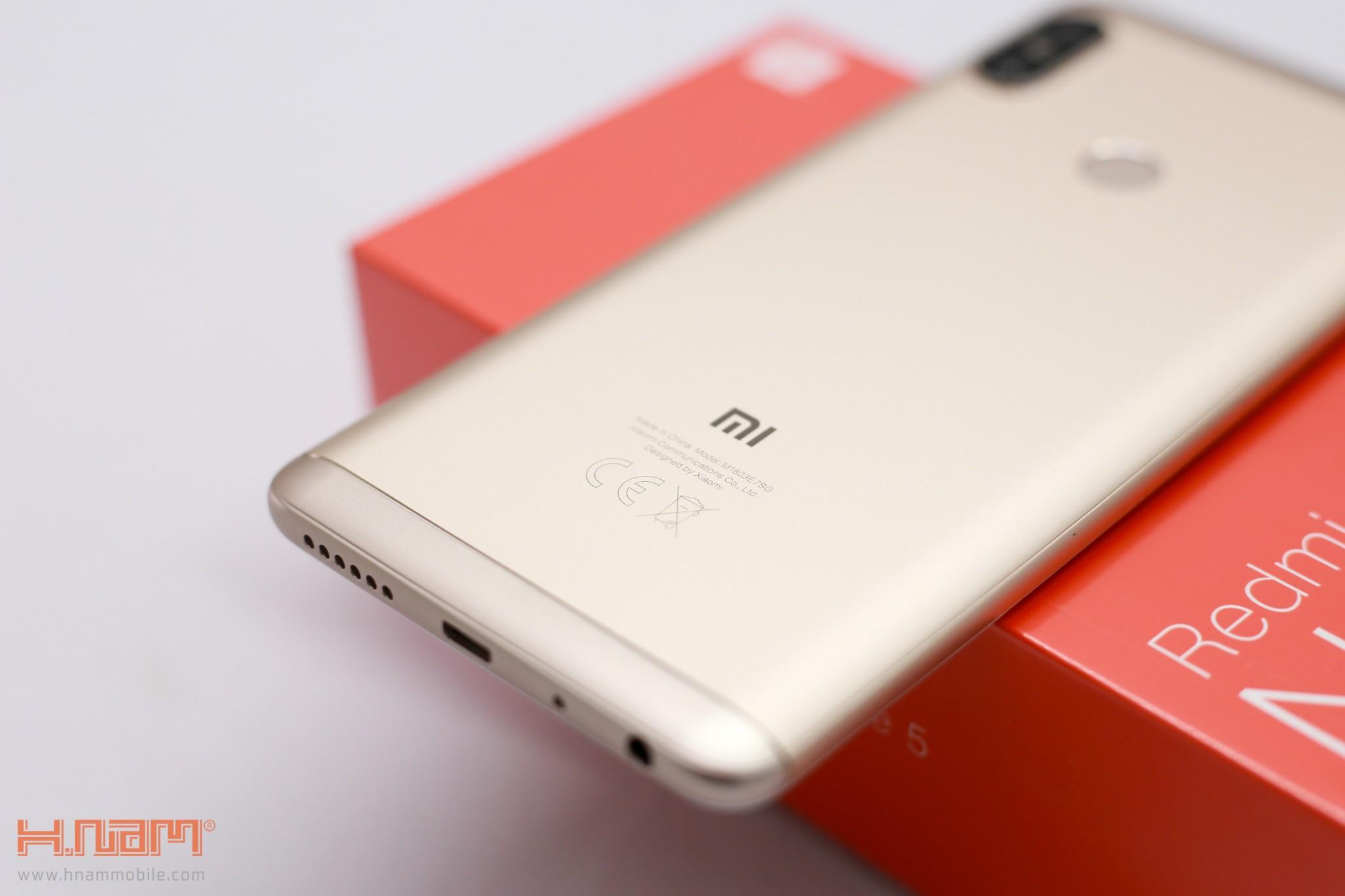 Trên tay Xiaomi Redmi Note 5: Sát thủ trong phân khúc tầm trung!!! hình 6