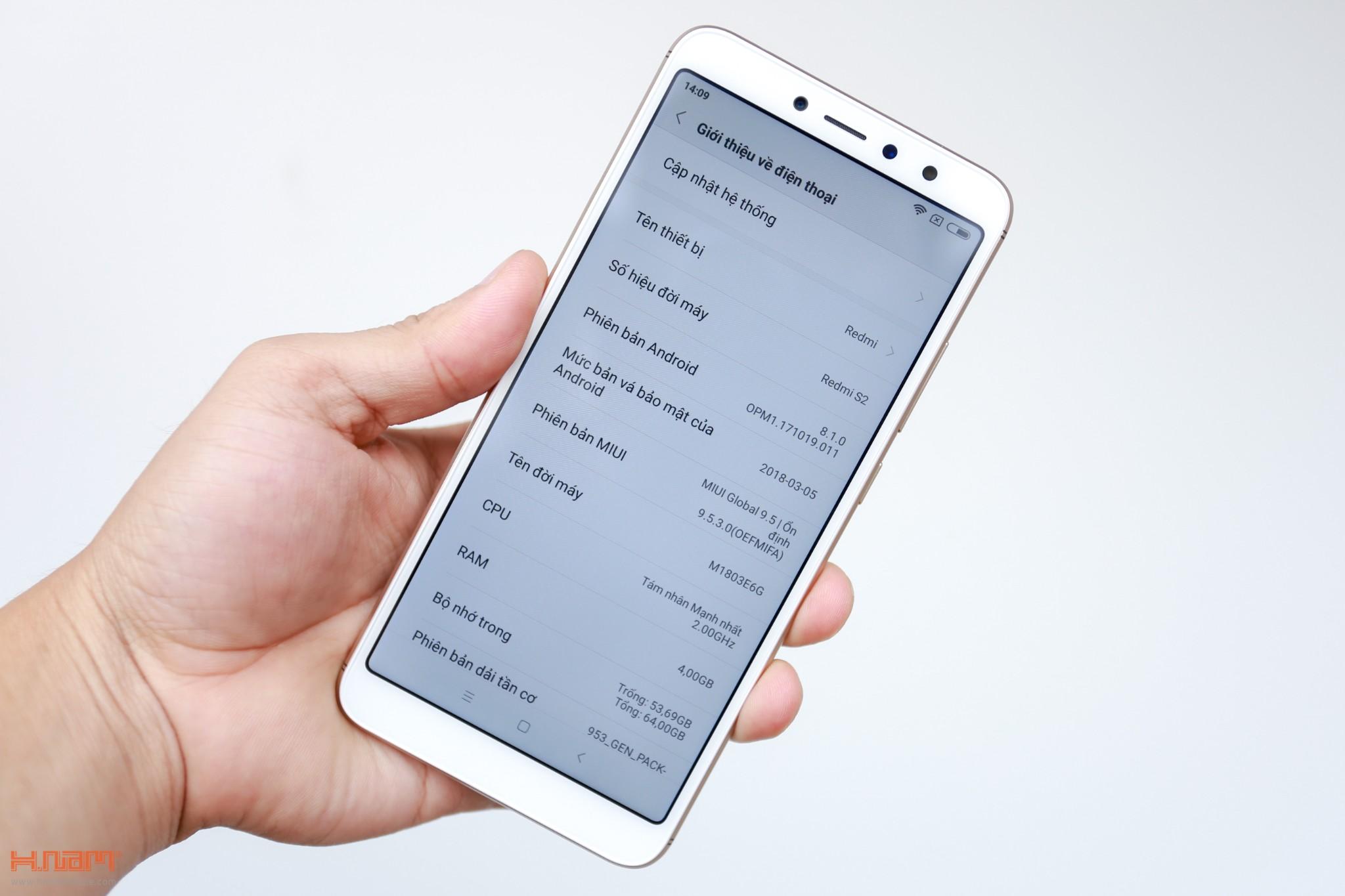 Trên tay Xiaomi Redmi S2: camera selfie AI giá chỉ 3.6 triệu đồng hình 3