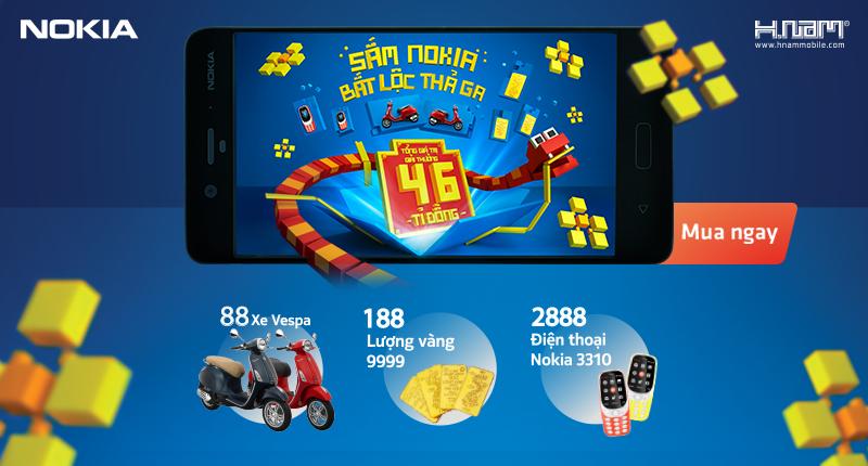 Sắm Nokia, bắt lộc thả ga - Tổng giải thưởng lên đến 66 tỷ đồng hình 1