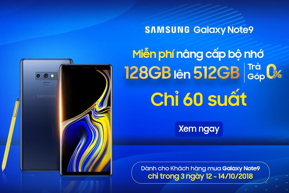 [TIN SỐC] Galaxy Note 9 giá chỉ 20.990.000đ hình 1