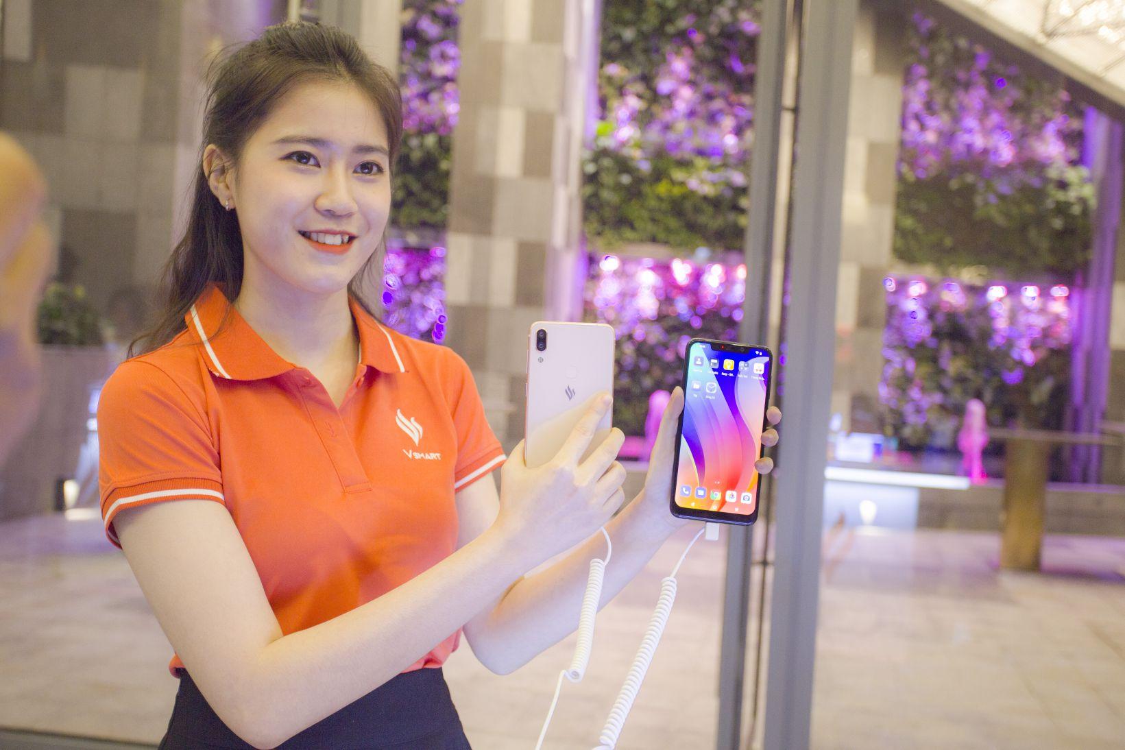 Vingroup chính thức ra mắt 4 smartphone đầu tiên của VSmart hình 1