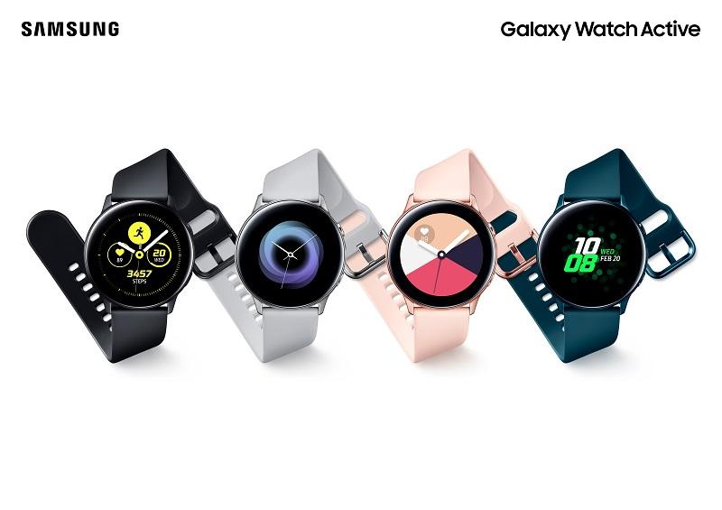 Samsung ra mắt đồng hồ thông minh Galaxy Watch Active: Xu hướng thời trang, phong cách năng động hình 1