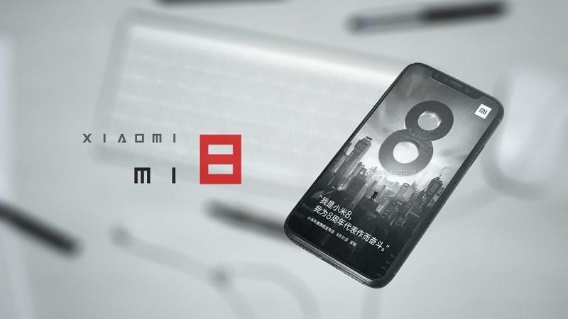 Xiaomi Mi 8 xuất hiện hình ảnh trên tay trước ngày ra mắt hình 1