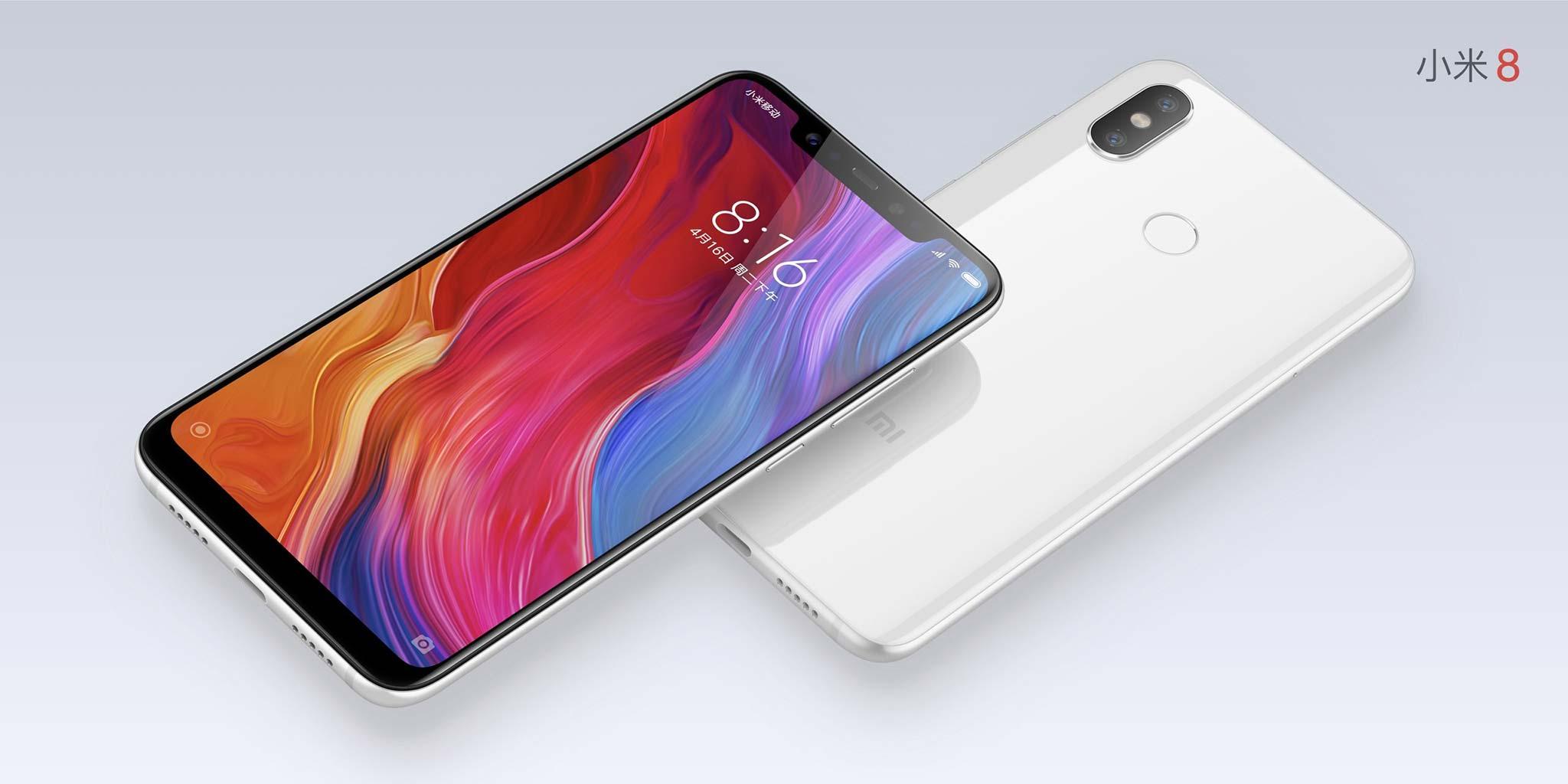 Xiaomi chính thức ra mắt Mi 8/ EE/ SE: Face ID, màn hình tai thỏ, cảm biến vân tay dưới màn hình hình 1