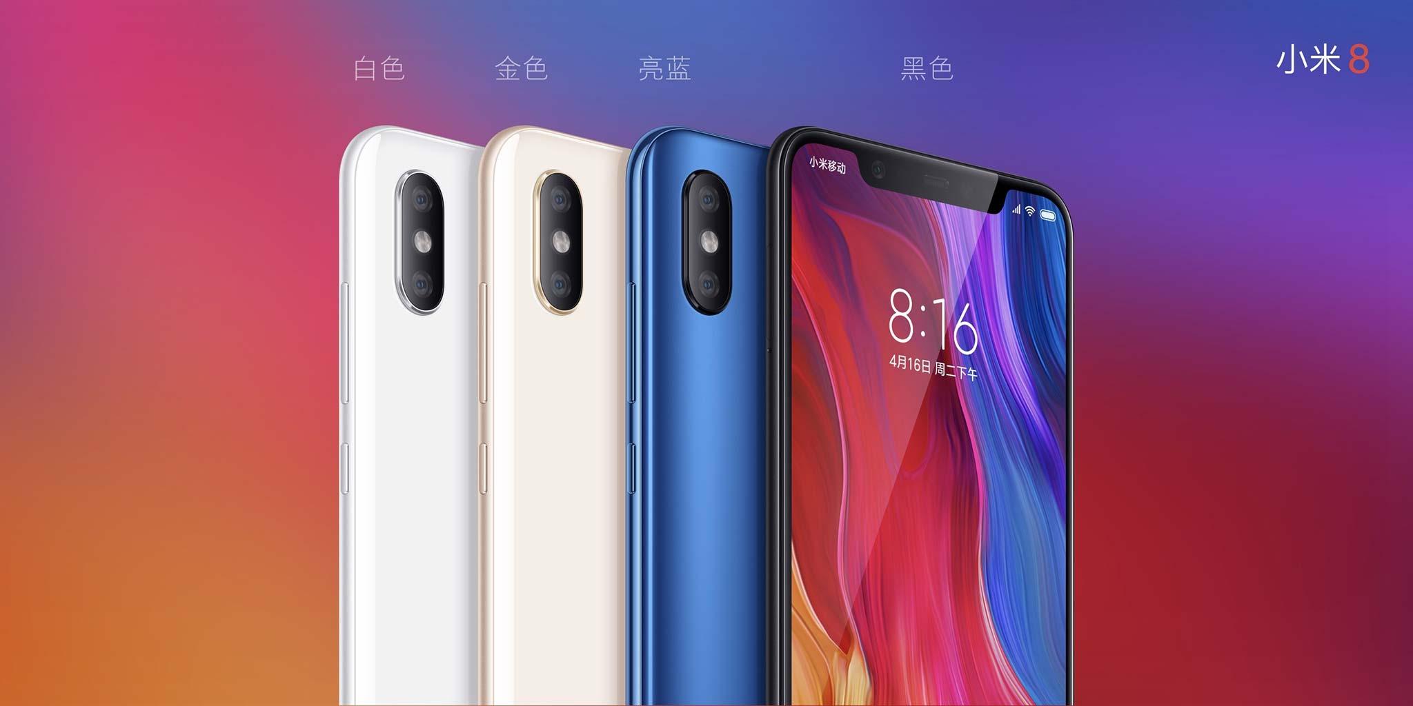 Xiaomi chính thức ra mắt Mi 8/ EE/ SE: Face ID, màn hình tai thỏ, cảm biến vân tay dưới màn hình hình 2