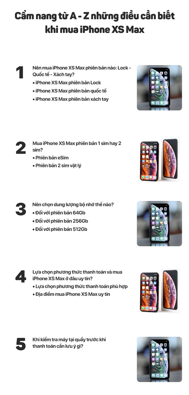 iphone xs max infofgraphic