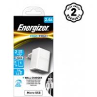 Sạc Energizer 2 cổng HT2.4A (kèm cáp Micro) ACW2BEUHMC3