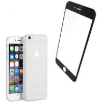 Combo ốp lưng Memumi + cường lực Baseus Silk iPhone 7