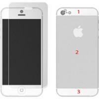 Bộ dán màn hình iPhone 5 / 5S trước sau