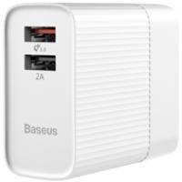 Sạc Baseus 2 USB Transun QC3.0 (3A)