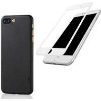 Combo ốp lưng Memumi + cường lực Baseus Silk iPhone 7 Plus