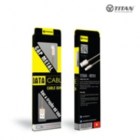 TITAN cable Lightning Metal MT01 (1m)
