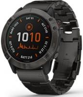 Đồng hồ thông minh Garmin Fenix 6X Titanium Carbon Gray - Titanium Band