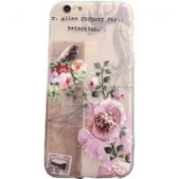 Ốp lưng Fashion EU Flower iPhone 6 Plus