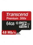 Transcend MicroSDXC 64GB C10 UHS-1 Premium