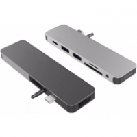 Bộ chia cổng HyperDrive Solo 7 cổng (HDMI 4K)