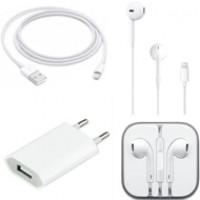 Combo phụ kiện Apple dành cho iPhone 7/7 Plus (Sạc,cáp,tai nghe)
