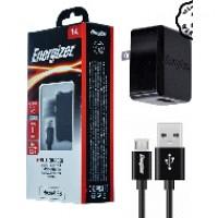 Sạc Energizer Wall ACA1AUSCMC3 1A 1USB (kèm cable Micro USB)