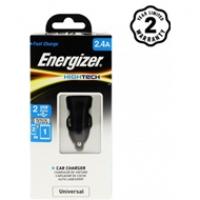 Sạc xe hơi Energizer 2.4A 2 cổng USB DCA2BHBK3