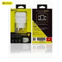 Sạc TITAN SN07 2A (2 cổng USB)