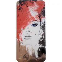 Pin dự phòng Hoco B1 Painted 10000mAh - Hair Red