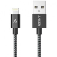 Anker cable Lightning dây Nylon A7136 (0.9m)