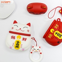 Bao Silicon Airpods Luckcat ( DC383)