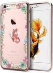 Ốp lưng CaseCube TPU Flower iPhone 6/6S (TPU Hoa)
