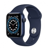 Apple Watch Series 6 40mm GPS Blue Aluminium Case with Deep Navy Sport Band MG143