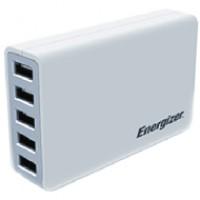 Sạc Energizer 5 cổng USB Station 25W EU
