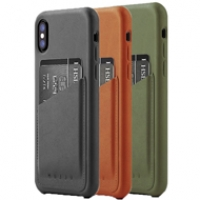 Ốp lưng Mujjo Leather iPhone X (CS-092)