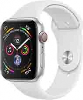 Apple Watch Series 4 40mm LTE Aluminum Case with White Sport Band MTUD2