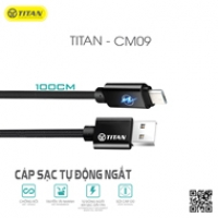 TITAN cable Micro đèn LED tự ngắt CM09 (1m)