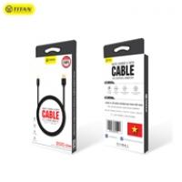 TITAN cable Lightning dây dù CA30 (2m)