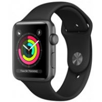 Apple Watch Series 3 42mm Black MTF32