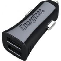 Sạc xe hơi Energizer 3.4A 2 cổng USB (kèm cáp USB)