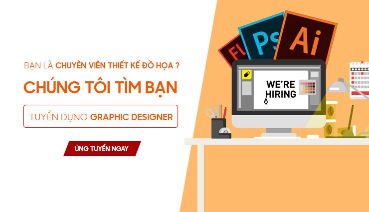 Thông báo tuyển designer
