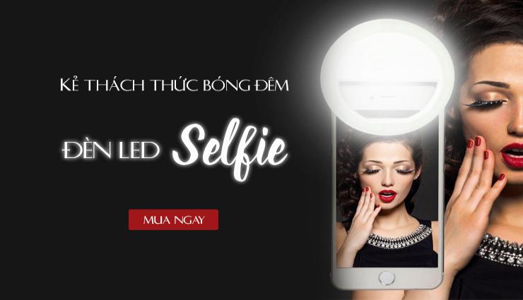 Đèn led dành cho tín đồ selfie