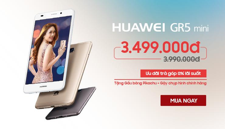 Săn Huawei GR5 nhận pikachu