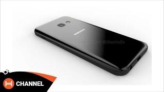 Samsung Galaxy A3 (2017) có thiết kế giống S7?