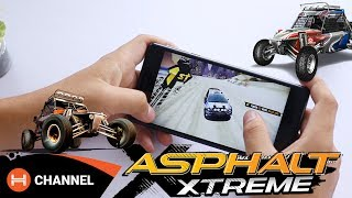 Speed test Nokia 3: Chiến Asphalt Xtreme vô tư?