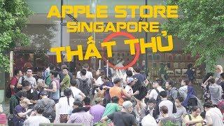 Toàn cảnh xếp hàng mua iPhone X tại Apple Store: THẤT THỦ.