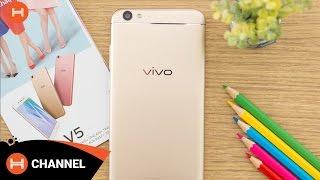 Trên tay Vivo V5: Smartphone đầu tiên trên thế giới sở hữu camera trước 20Mp.