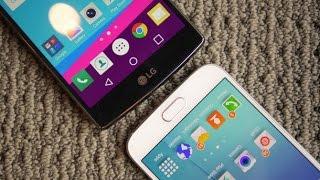 Review: LG G4 Đọ Sức Mạnh Với Galaxy S6