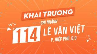 Khai trương chi nhánh Hnam Mobile 114 Lê Văn Việt, Quận 9, TPHCM