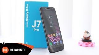 Đập hộp Galaxy J7 Pro: Camera f/1.7, Thiết kế mới, Android 7.0.