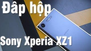 Đập hộp Sony Xperia XZ1: Siêu đẹp, siêu sang.