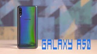 Galaxy A50: Smartphone tầm trung nhưng sở hữu vân tay dưới màn hình