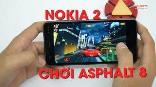 Thật hay đùa? Nokia 2 chơi asphalt 8 mượt mà khó tin!!!