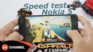 Speed test Nokia 5: Chip Snapdragon 430 có chiến được game?